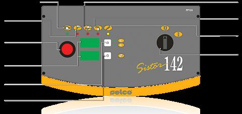 Панель управления Sistor 142