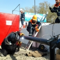 Выполнение ремонтных работ на наружных газопроводах